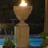 American Fyre Designs Piage Fire Urn & Pedestal