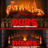 28″ HoloFlame Electric Fireplace Insert- Ultra Realistic Loaded W/ Features