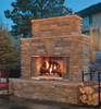 Montana Outdoor Wood Burning Fireplace