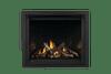 Shown With Reflective Panels, Oak Log Set & Zen Front