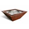HPC - Sedona Copper Square Gas Fire Bowl