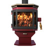 Mf Fire Cataylst Wood Stove- Charcoal With Soapstone Top