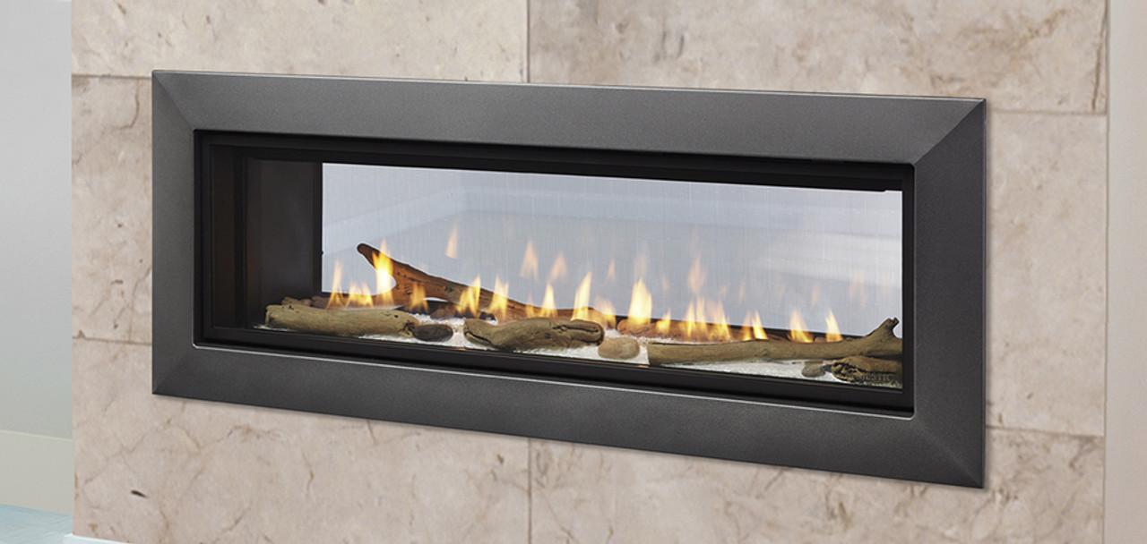 Majestic Echelon Ii 48 See Thru Gas Fireplace