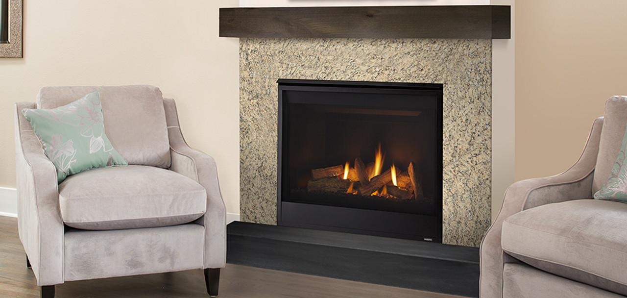 Majestic Quartz 32 Gas Fireplace Builders Package Deal