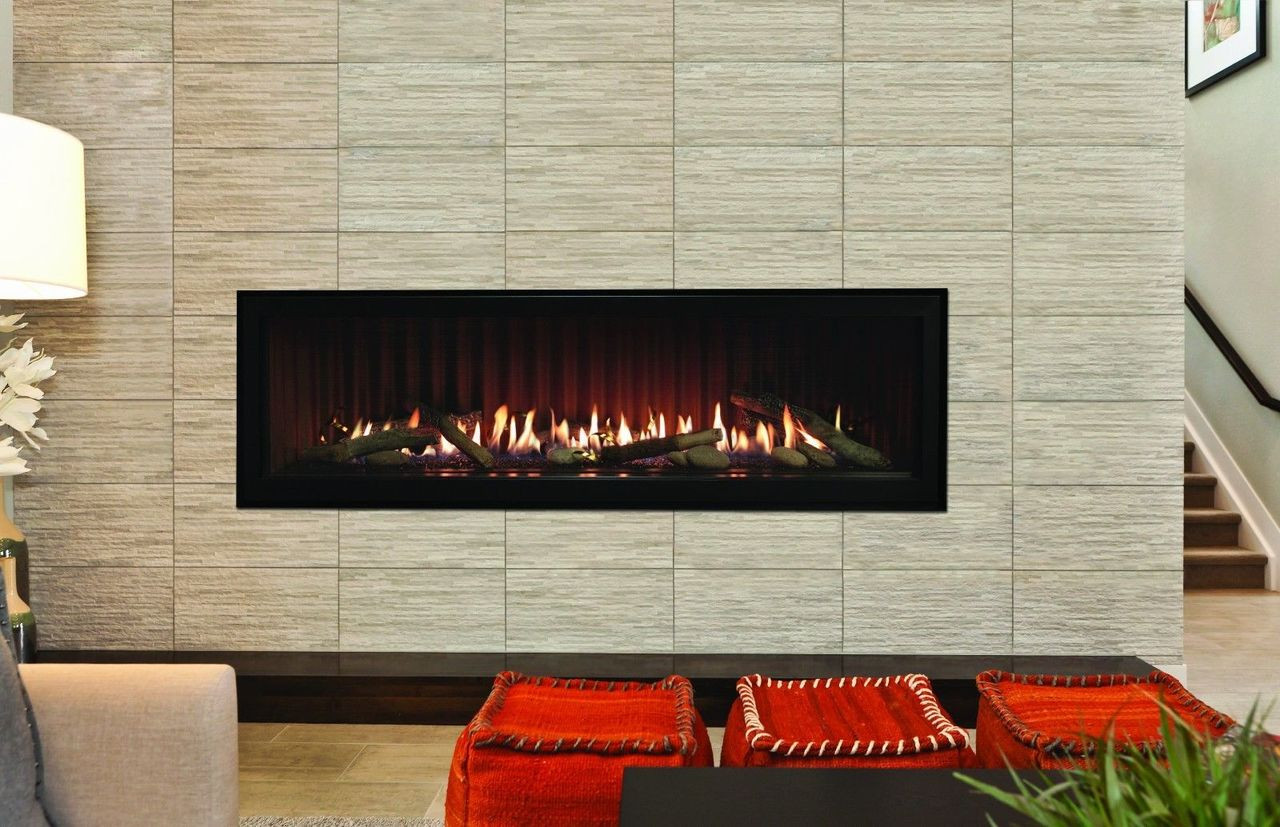 Linear Gas Fireplace >> Boulevard Linear 48 Contemporary Direct Vent Gas Fireplace