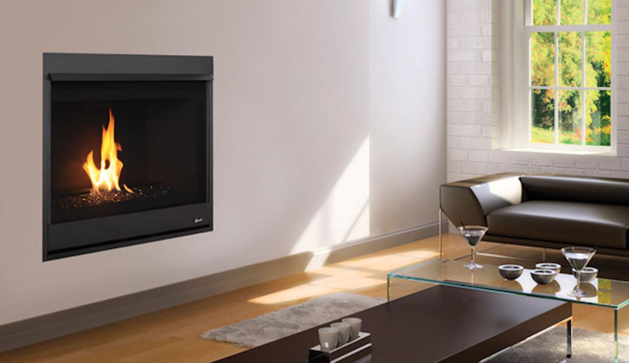 Superior 35 contemporary gas fireplace