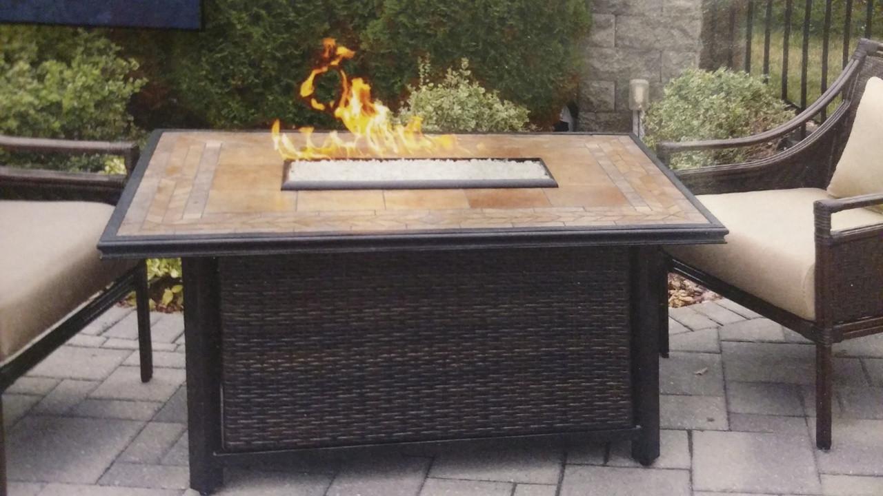 Calumet Gas Fire Table