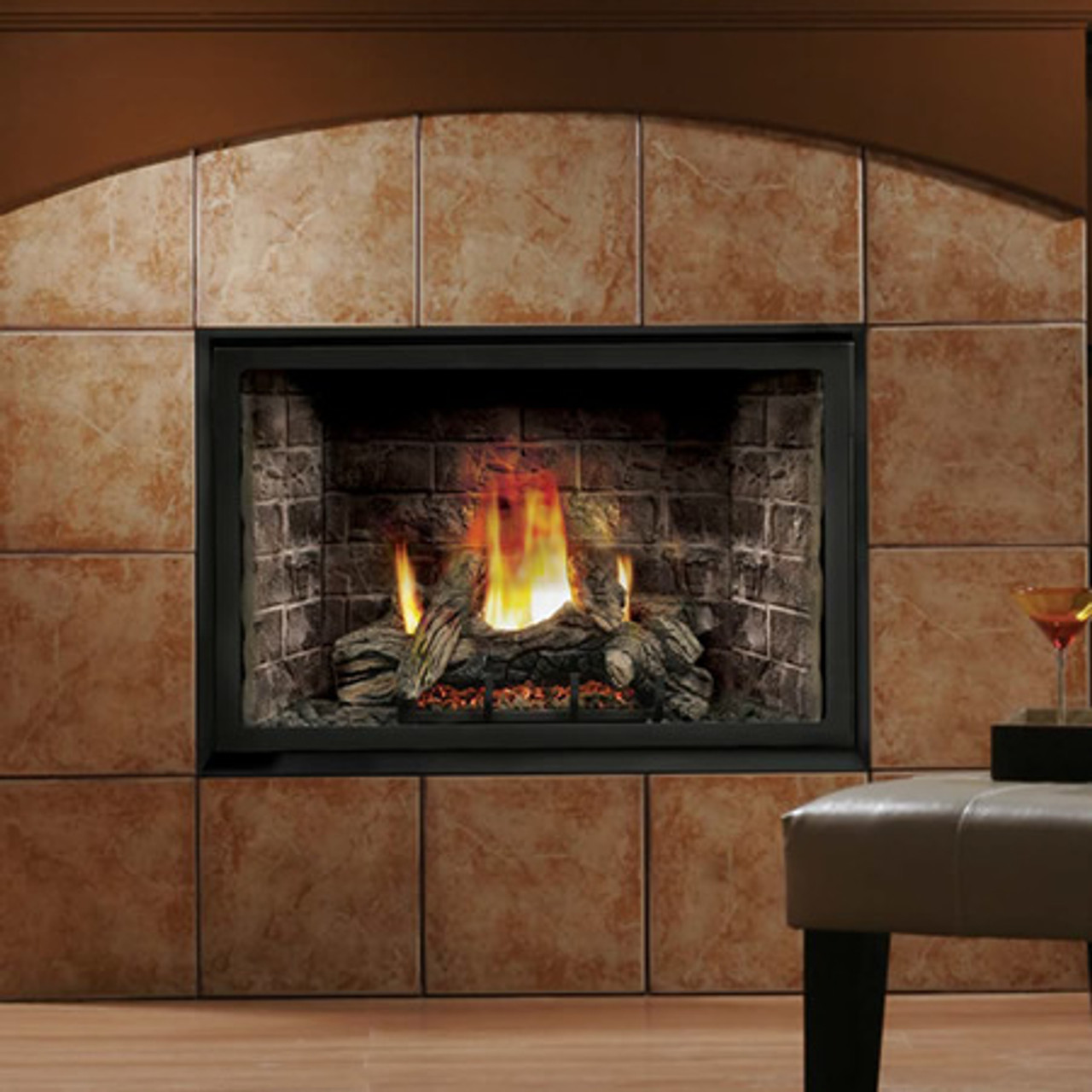 Kingsman Hb4228 Zero Clearance Direct Vent Gas Fireplace