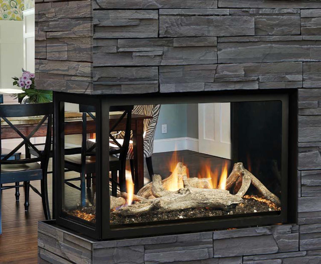 Excellent Kingsman Mcvst42 Zero Clearance Direct Vent Peninsula Gas Fireplace Download Free Architecture Designs Rallybritishbridgeorg