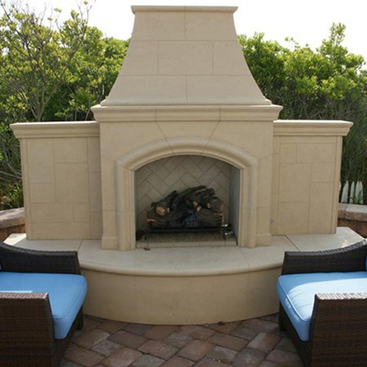 Outdoor Fireplace American Fyre Grand Phoenix