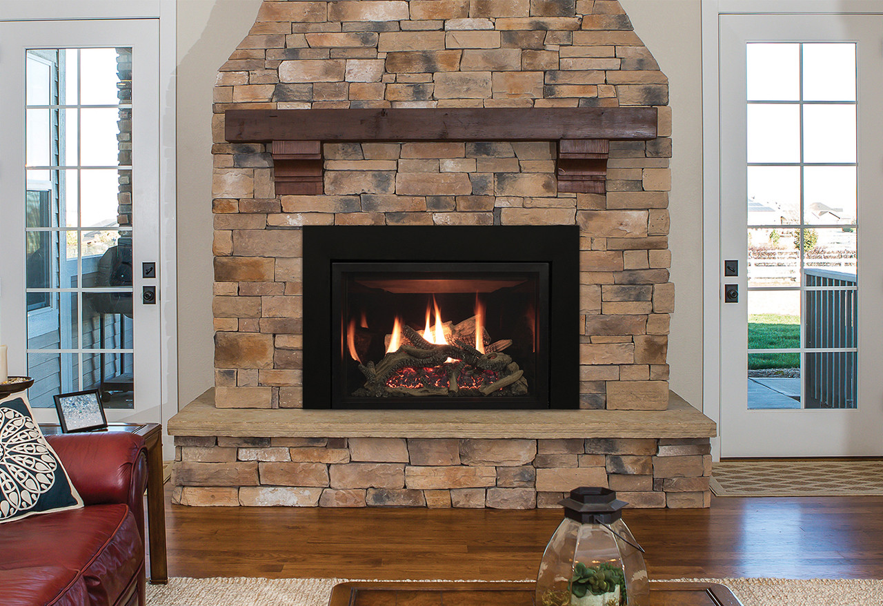 Rushmore 35 Direct Vent Fireplace Insert With Truflame Technology
