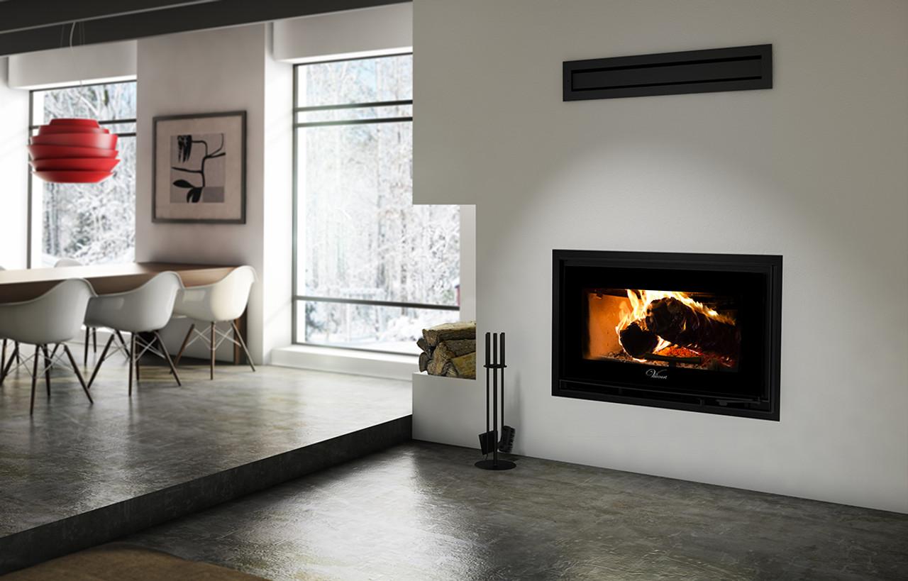 Valcourt Mundo Fp12 High Efficiency Wood Burning Fireplace