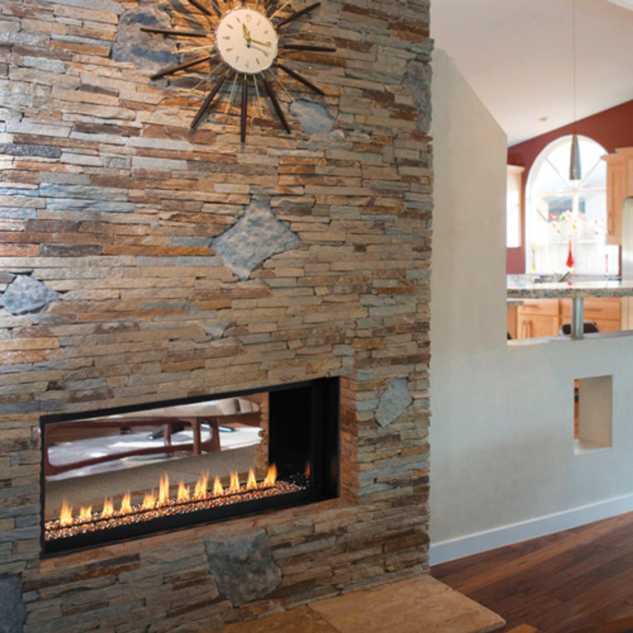 Superior Vrl 4500 Vent Free Gas Fireplace With See Through