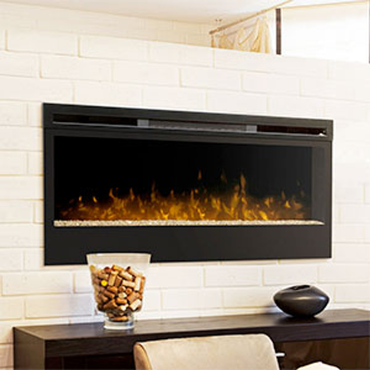 Cool Dimplex Synergy 50 Inch Linear Built In Or Wall Mount Electric Fireplace Blf50 Interior Design Ideas Clesiryabchikinfo
