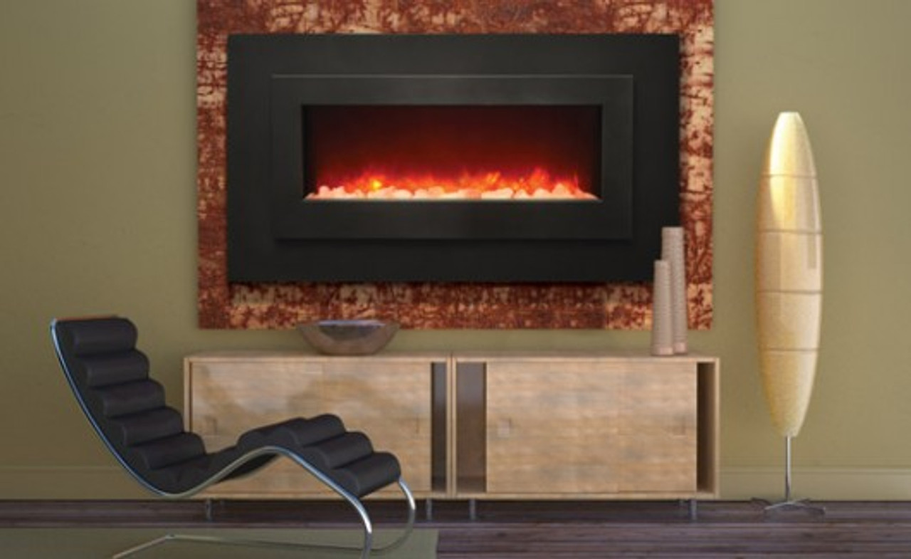 Sierra Flame Wm Fml 48 Electric Fireplace Wall Mount Or Built In