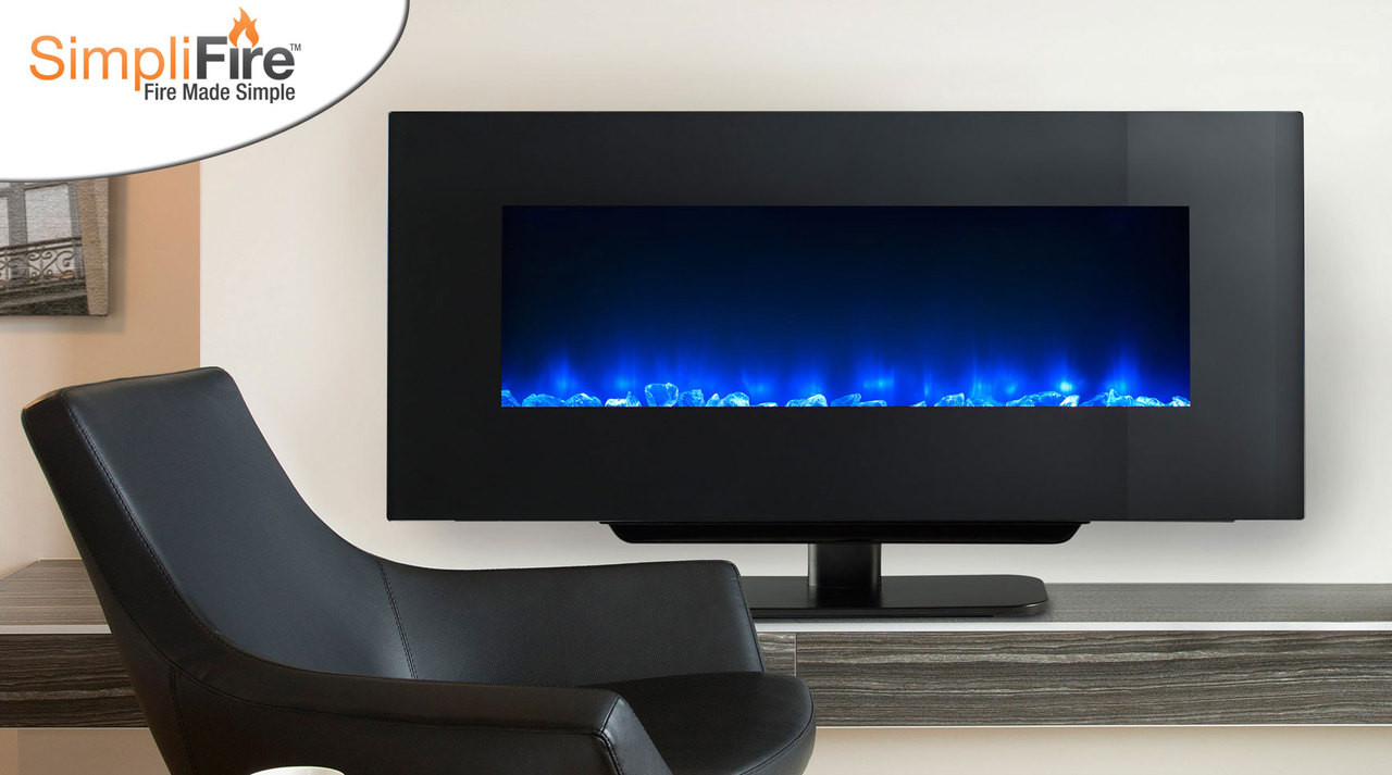 Majestic Simplifire 70 Wall Mount Electric Fireplace With Heat