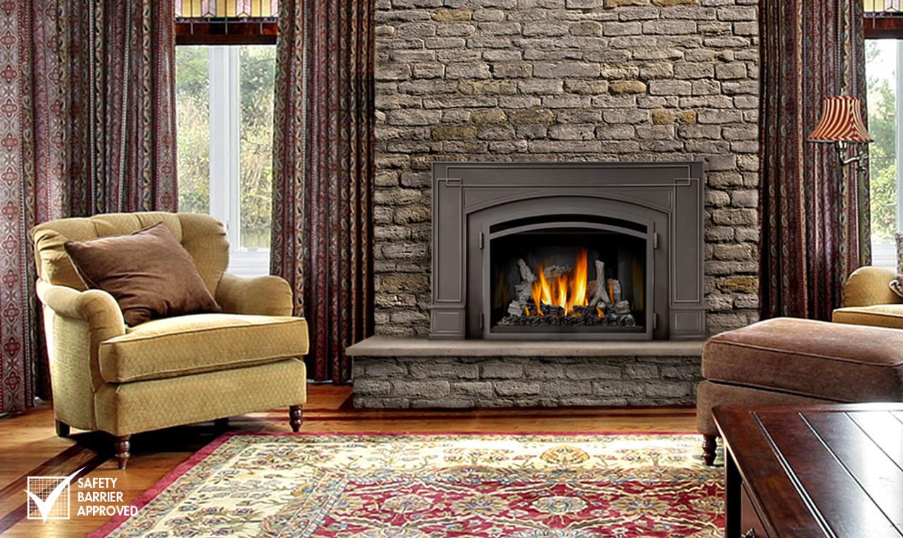 napoleon infrared3 gas fireplace insert ir3 rh fireplacesrus net infrared fireplace insert 36 inch ir fireplace insert