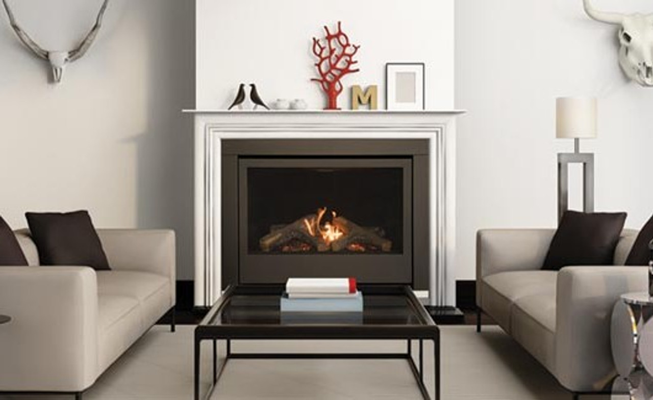 Sierra Flame Thompson 36 Direct Vent Linear Gas Fireplace