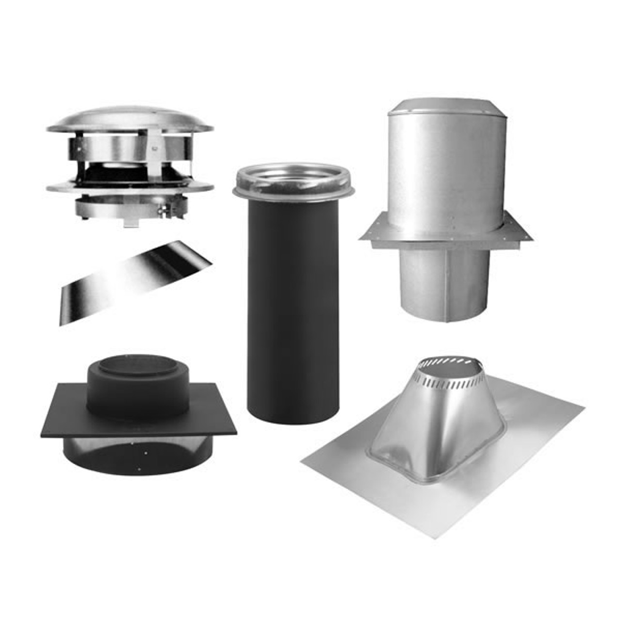 "Selkirk Metalbestos 6"" Flat ceiling Support Kit"