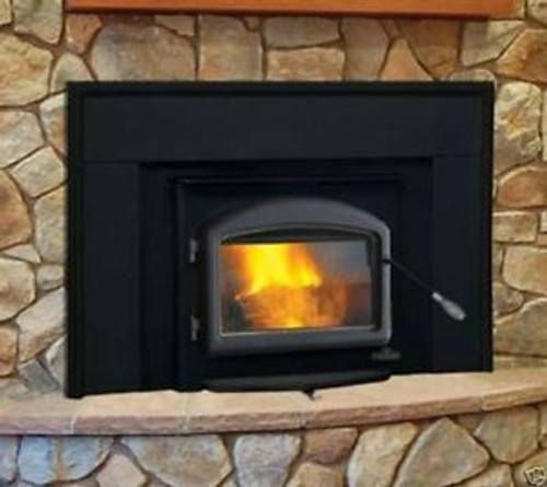 Napoleon 1101 Fireplace Insert With Black Door & Surround This Is Exactly What You Get Plus 25 Foot S.S Liner Installation Kit
