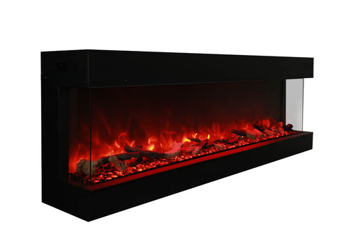 Amantii  72-TRU-VIEW-XL 3 sided fireplaces.