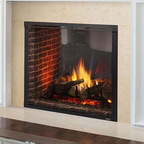 Twilight Ii Modern Indoor To Outdoor Gas Fireplace