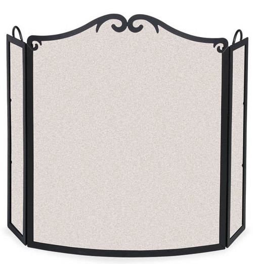 Pilgrim Arch Bow Folding  Fireplace Screen