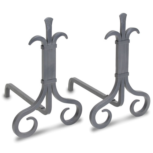 Grand Forge Fireplace Andirons