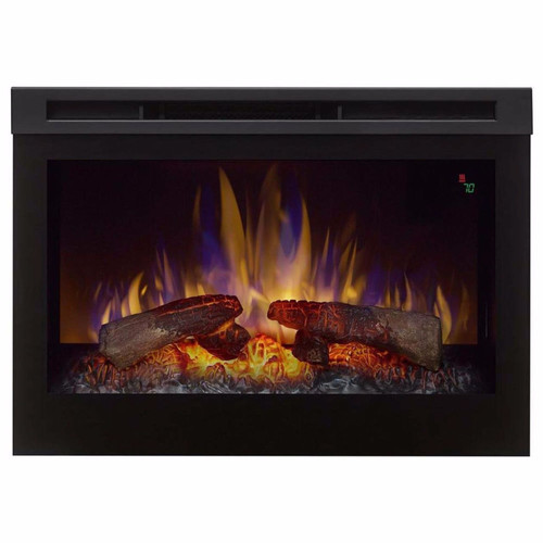 """Dimplex 25"""" Electric Fireplace With Logs"""