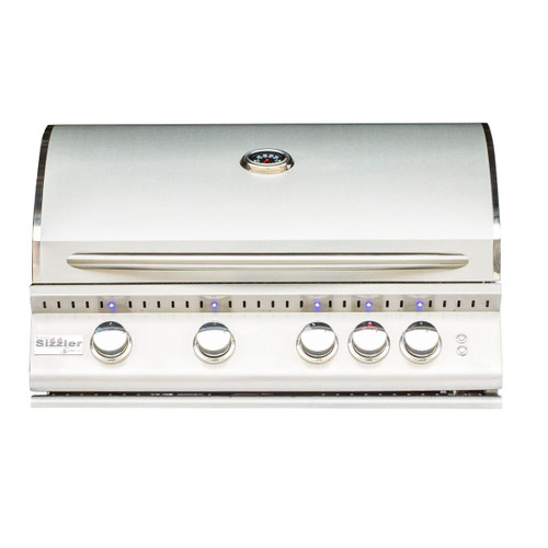 Summerset Sizzler Pro Series Built-In Gas Grill, 32-Inch, Natural Gas Or Propane
