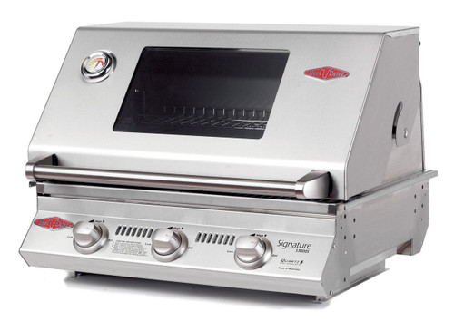Beefeater 3 Burner Built In stainless steel grill