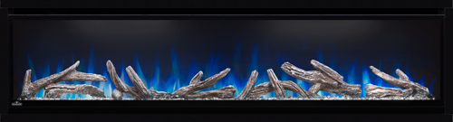 Napoleon AlluraVision 60 Electric Fireplace With Logs