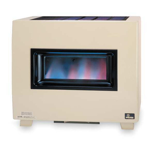EMPIRE RH50BLP Gas Fired Room Heater, Vent Free W/ Thermostat Temp Control