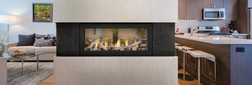 Acies See Through Gas Fireplace