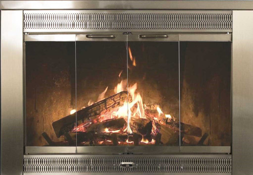 Thermorite Regal Glass Fireplace Door