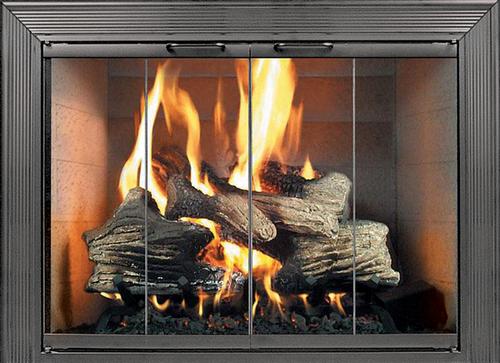 Thermorite - Decor Glass Fireplace Door