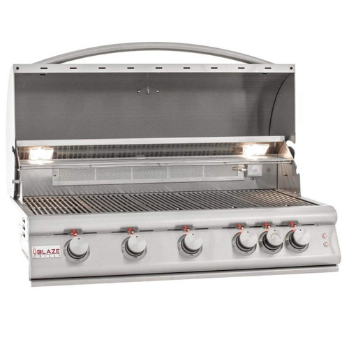 Blaze 40 Inch Built In Grill With Lights