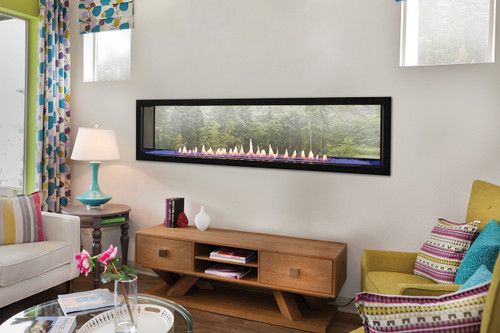 Boulevard See Through 60 Inch Vent Free Gas Fireplace