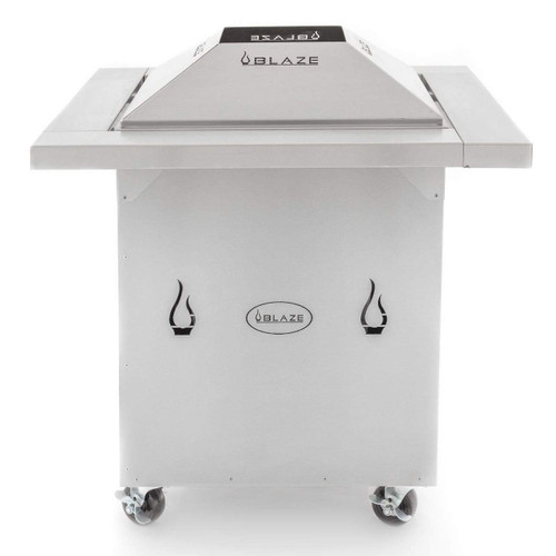 Blaze Stainless Steel Outdoor Fire Pit