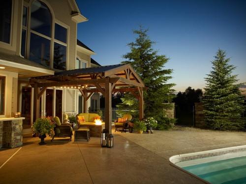 Outdoor Greatroom Company Lodge Pergola