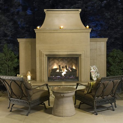 American Fyre Designs - Grand Cordova Outdoor Fireplace