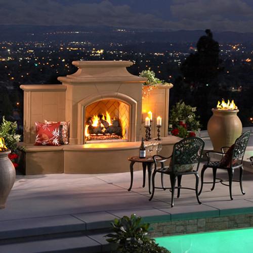 American Fyre Designs Grand Mariposa Outdoor Fireplace