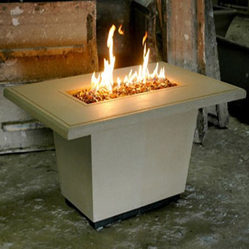 American  Fyre Designs Cosmopolitan Rectangle Firetable
