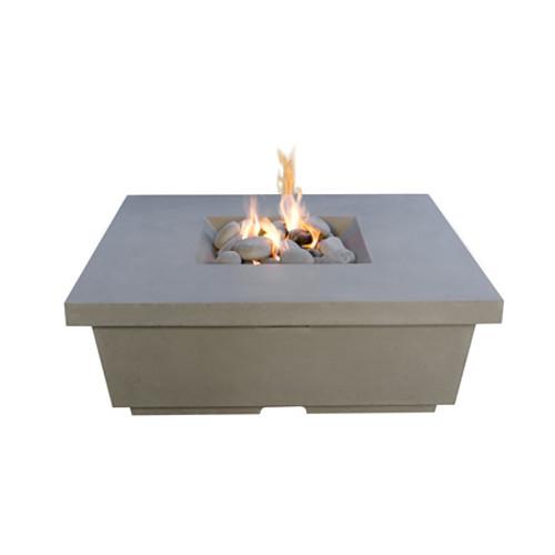 American Fyre Designs Contempo Square Gas Firetable