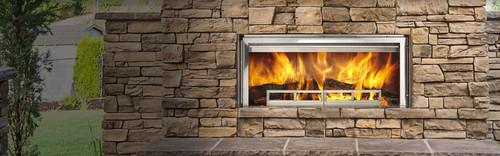 Longmire Outdoor Wood Burning Fireplace