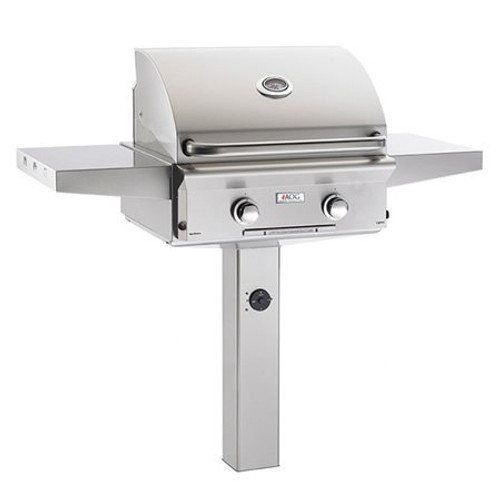 """American Outdoor Grill L-Series 24"""" In-Ground Gas Grill with Rotisserie"""