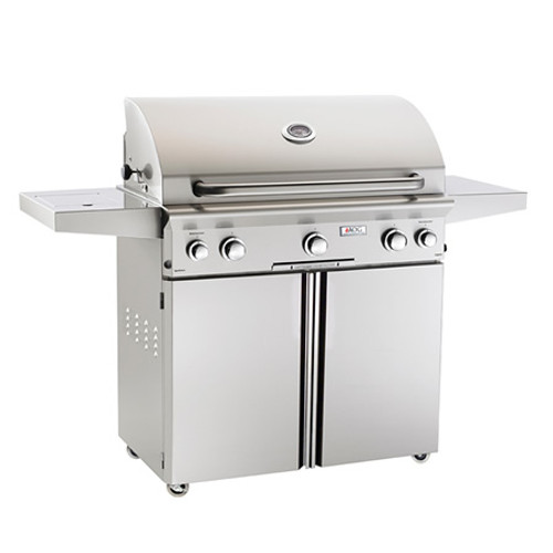 "American Outdoor Grill  L-Series Cart-Mount Gas Grill with Rotisserie- 36"" NG"