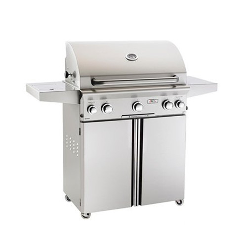 """American Outdoor Grill L-Series Cart-Mount In Grill with Rotisserie 30"""" LP"""
