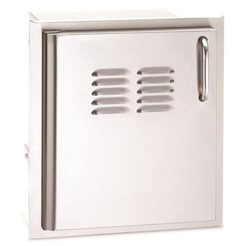 "American Outdoor Grill 20"" x 14"" Single Storage Door w/ Tank Tray - Left Hinge"