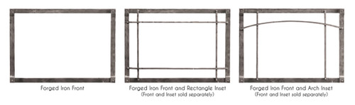 Rushmore 35 Direct Vent Fireplace Insert With Truflame